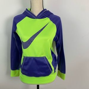 4/$25   Nike Neon Therma-Fit Youth XL Hoodie